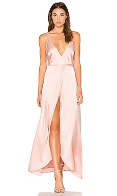 Rush Hour Maxi Dress in Blush