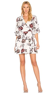 Feel The Breeze Wrap Dress