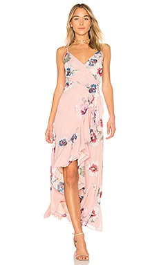 Cross Roads Maxi Dress