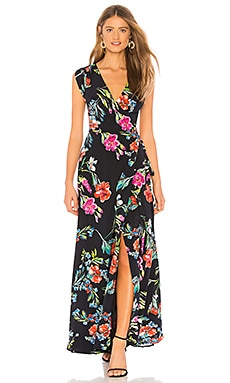 Swept Away Silk Maxi Dress Yumi Kim $117