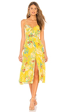Фото - Платье pretty woman - Yumi Kim желтого цвета