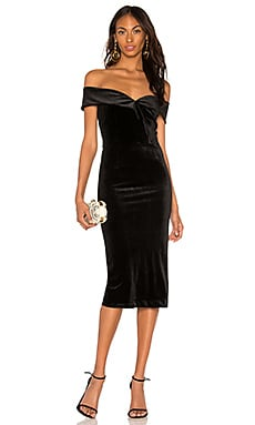 Cat Walk Velvet Dress Yumi Kim $238