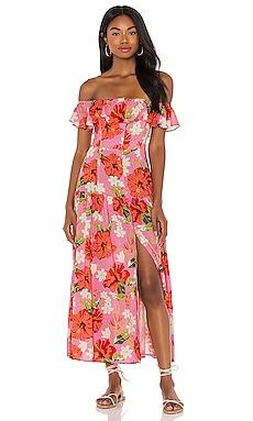 Макси платье spring fling - Yumi Kim