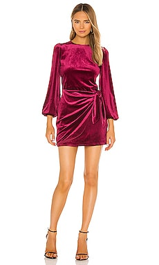 Velvet Tie Me Over Dress Yumi Kim $167