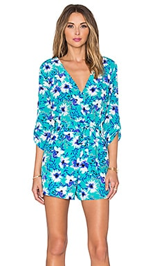 Yumi Kim Liz Romper in Perfect Day Bouquet