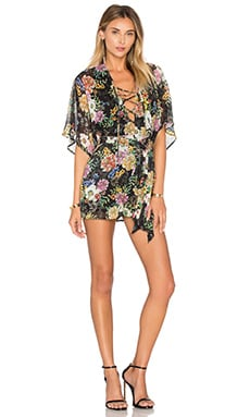 Drift Away Romper in Wisteria Park