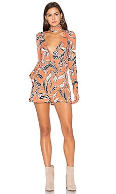 Work It Romper in Harvest Moon Cinnamon