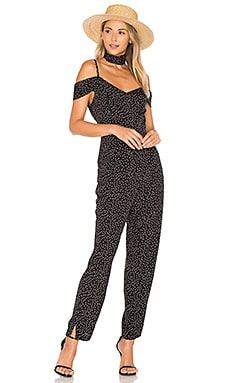 Play For Keeps Jumpsuit in On The Dot