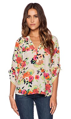 Yumi Kim Yumi Top in Peonies Bloom