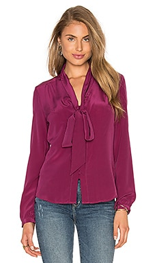 Yumi Kim Fit To Be Tied Top in Burgundy