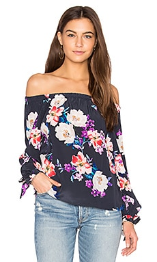 Aloha Top in Rosewood