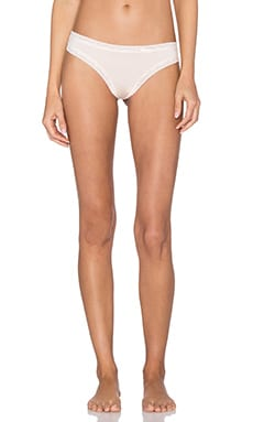 Yummie by Heather Thomson Nash Thong in Soft Pink