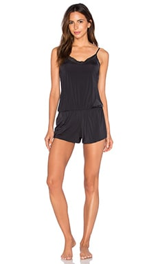 Hollywood Romper in Black
