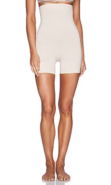 Yummie by Heather Thomson Vivian High Waist Shortie in Nude