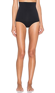 Yummie by Heather Thomson Cameo High Waist Brief in Black