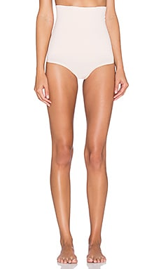 Yummie by Heather Thomson Danielle High Waist Thong in naked