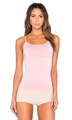 Yummie by Heather Thomson Sylvie Seamless Cami in Bridal Rose