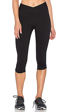 Yummie by Heather Thomson Candace Capri in Black