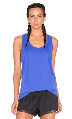 Yummie by Heather Thomson Lelia Racer Tank in Dazzling Blue