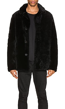 Merinos Lamb Coat Yves Salomon $1,141