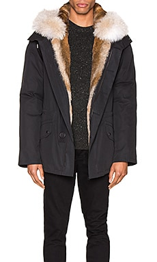 Parka with Rabbit and Coyote Fur Yves Salomon $1,328