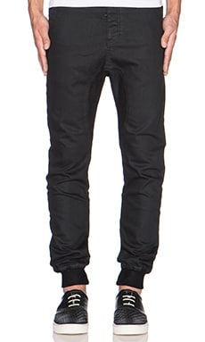 Dynamo Denim in Black Coated