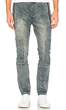 Joe Blow Zip Denim