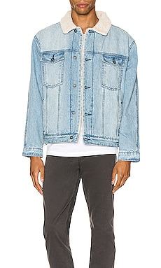 Sherpa Denim Jacket Zanerobe $179
