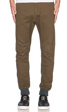 Zanerobe Dynamo Chino in Military Green