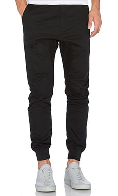 Zanerobe Dynamo Chino in Black & Black