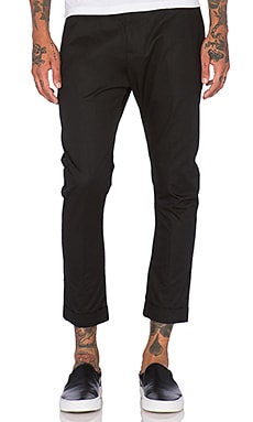 Zanerobe High Street Chino in Black