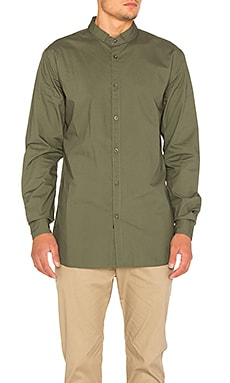Zanerobe Tuck Seven Foot Shirt in Olive