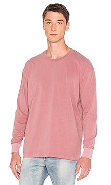 Zanerobe MUSK CAPSULE Long Sleeve Rugger Tee in Musk
