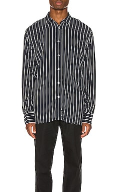 Pinstripe Long Sleeve Shirt Zanerobe $54