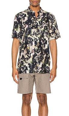 Foliage Short Sleeve Shirt Zanerobe $99