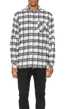 Work Flannel Long Sleeve Shirt Zanerobe $84