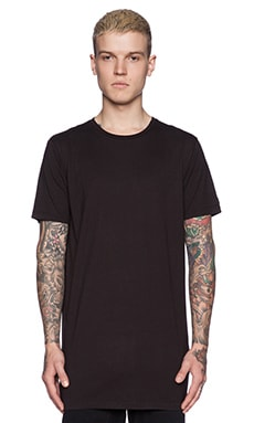 Zanerobe Tall Tee in True Black