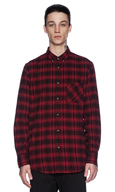 Zanerobe Seven Foot Shirt in Red Flanno