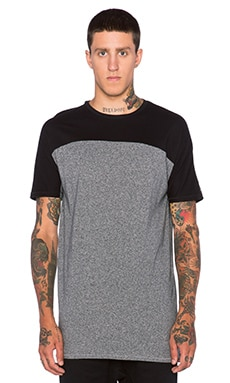 Zanerobe Tall Top Tee in Black & Static