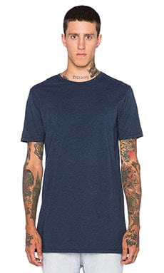 Zanerobe Tall Tee in Dark Navy Marle