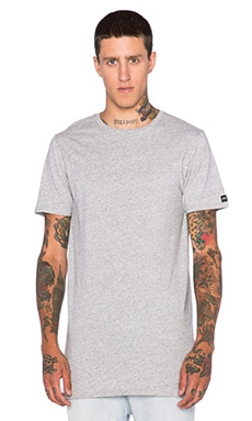 Zanerobe Tall Tee in Grey Marle