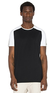 Zanerobe Lunix Flintlock Tee in Black & Grey Marle