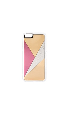 ZERO GRAVITY Nouveau iPhone 6 Case in Gold & Pink