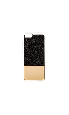 ZERO GRAVITY Star Gazer iPhone 6 Case in Black & Gold