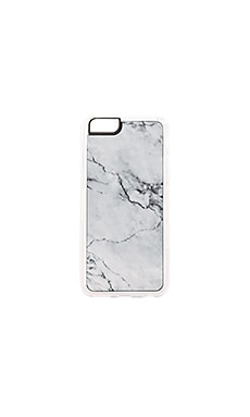 Stoned iPhone 6/6s Case in Grey & White
