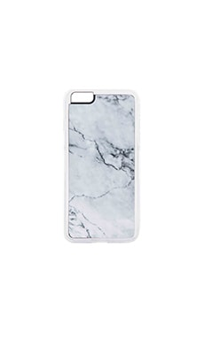 Stoned iPhone 6/6s Plus Case en Gris & Blanc