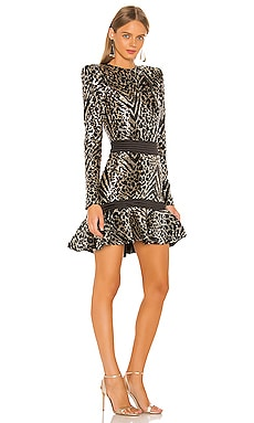 Mokai Nights Mini Dress Zhivago $576