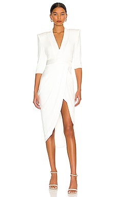 Eye Of Horus Dress in White