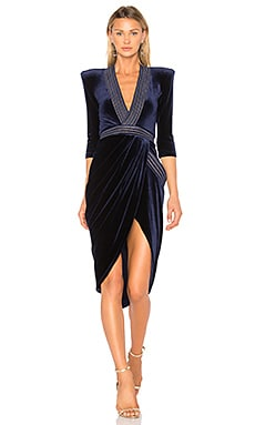 Eye Of Horus Velvet Dress Zhivago $440