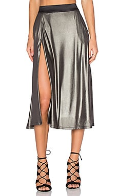 Zhivago Espionage Skirt in Pewter